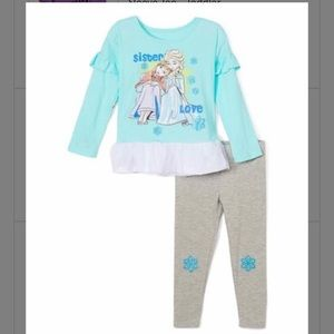FROZEN OUTFIT NWT